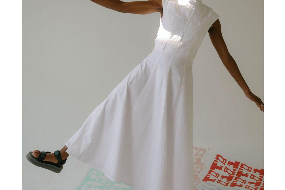 mozh mozh petra long dress