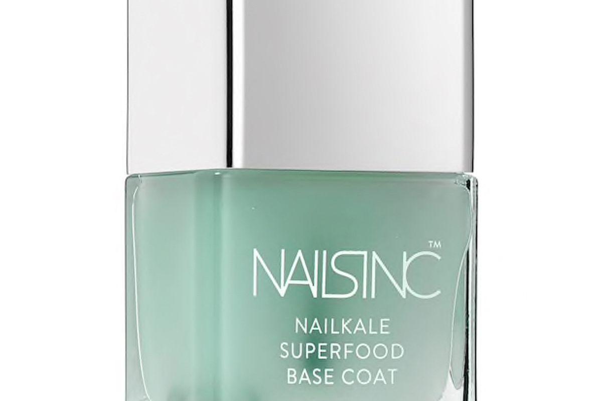 nails inc nailkale superfood base coat