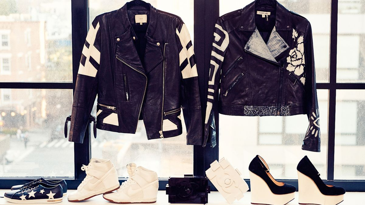 Why We're Dressing like We're In a Biker Gang This Fall