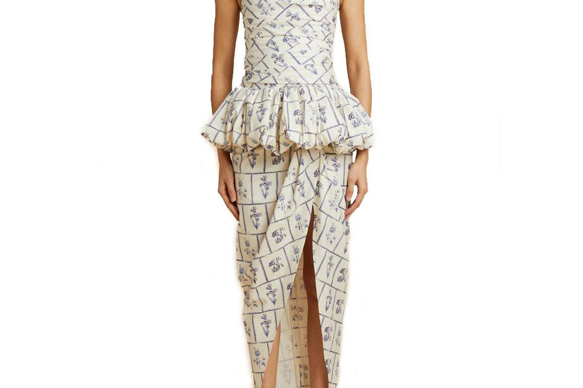 khaite the gwen dress