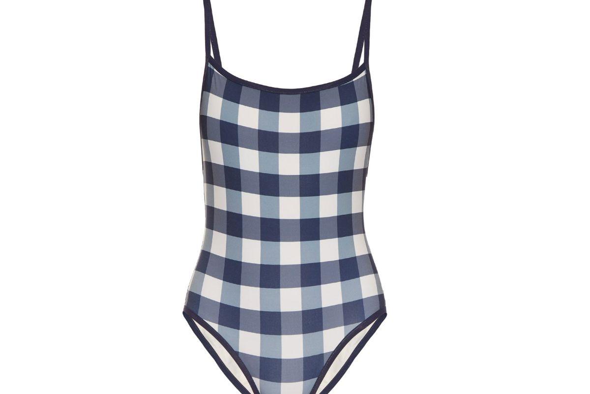 The Poppy gingham swimsuit