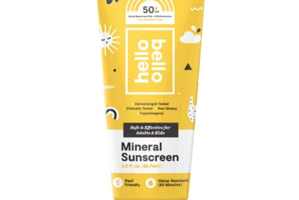 hello bello mineral sunscreen spf 50