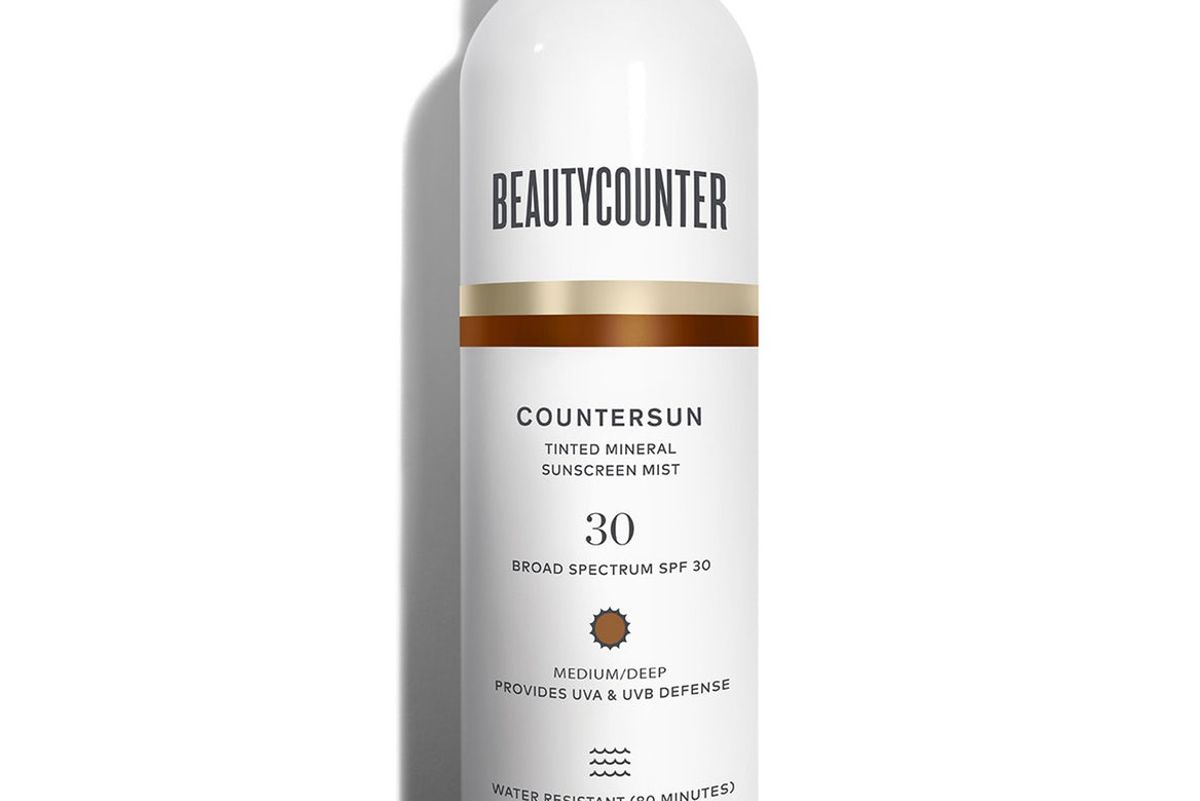 beautycounter countersun tinted mineral sunscreen mist spf 30