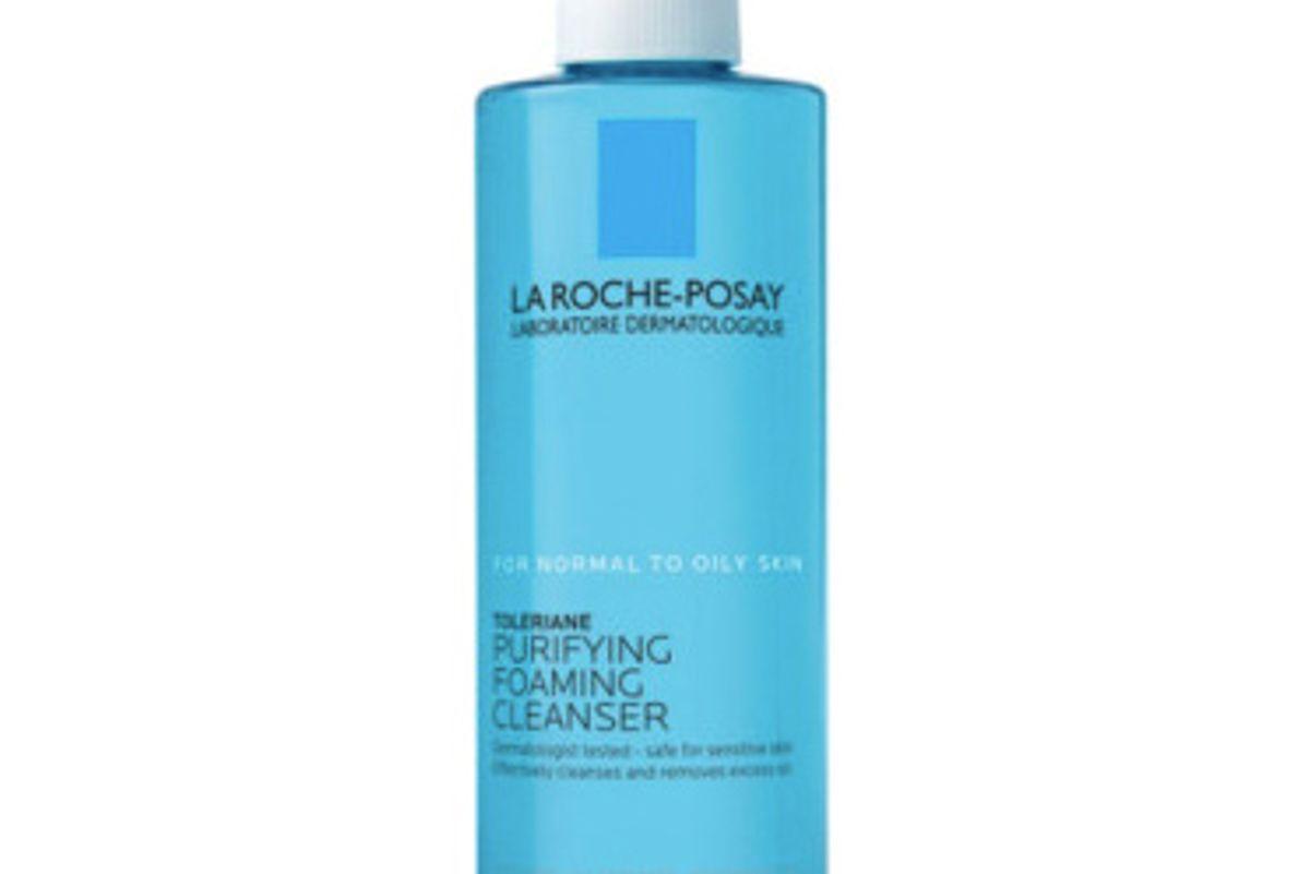la roche posay toleraine purifying foaming face wash for oily skin