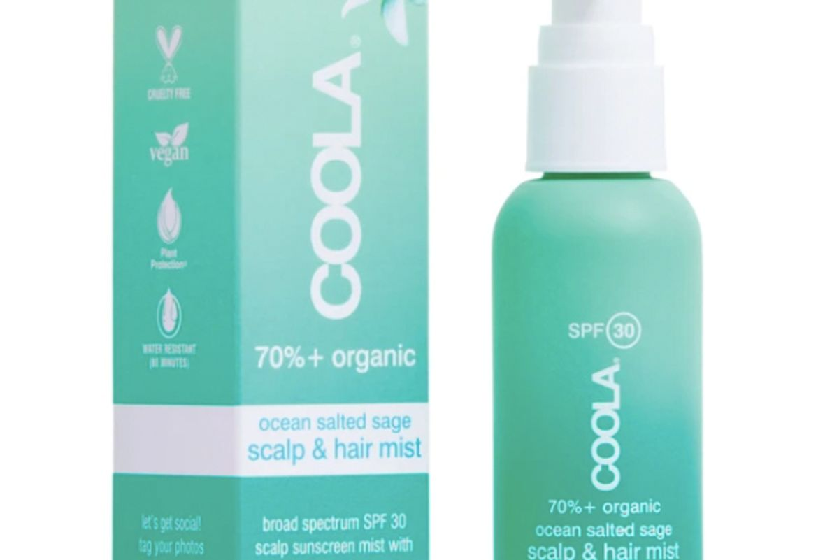 coola scalp and hair mist organic sunscreen spf 30