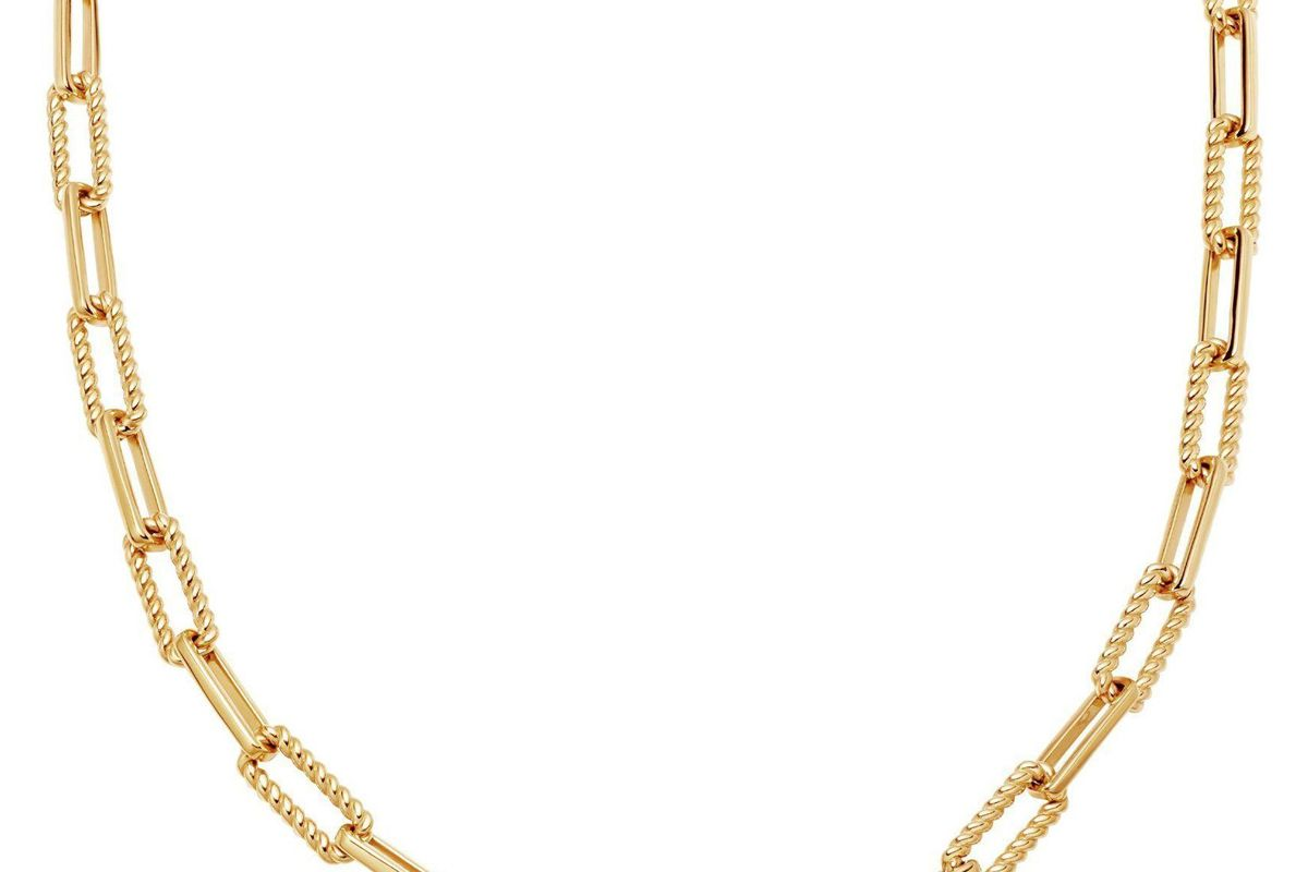 missoma gold coterie chain necklace