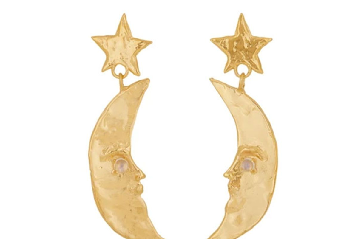 mondo mondo moon earrings