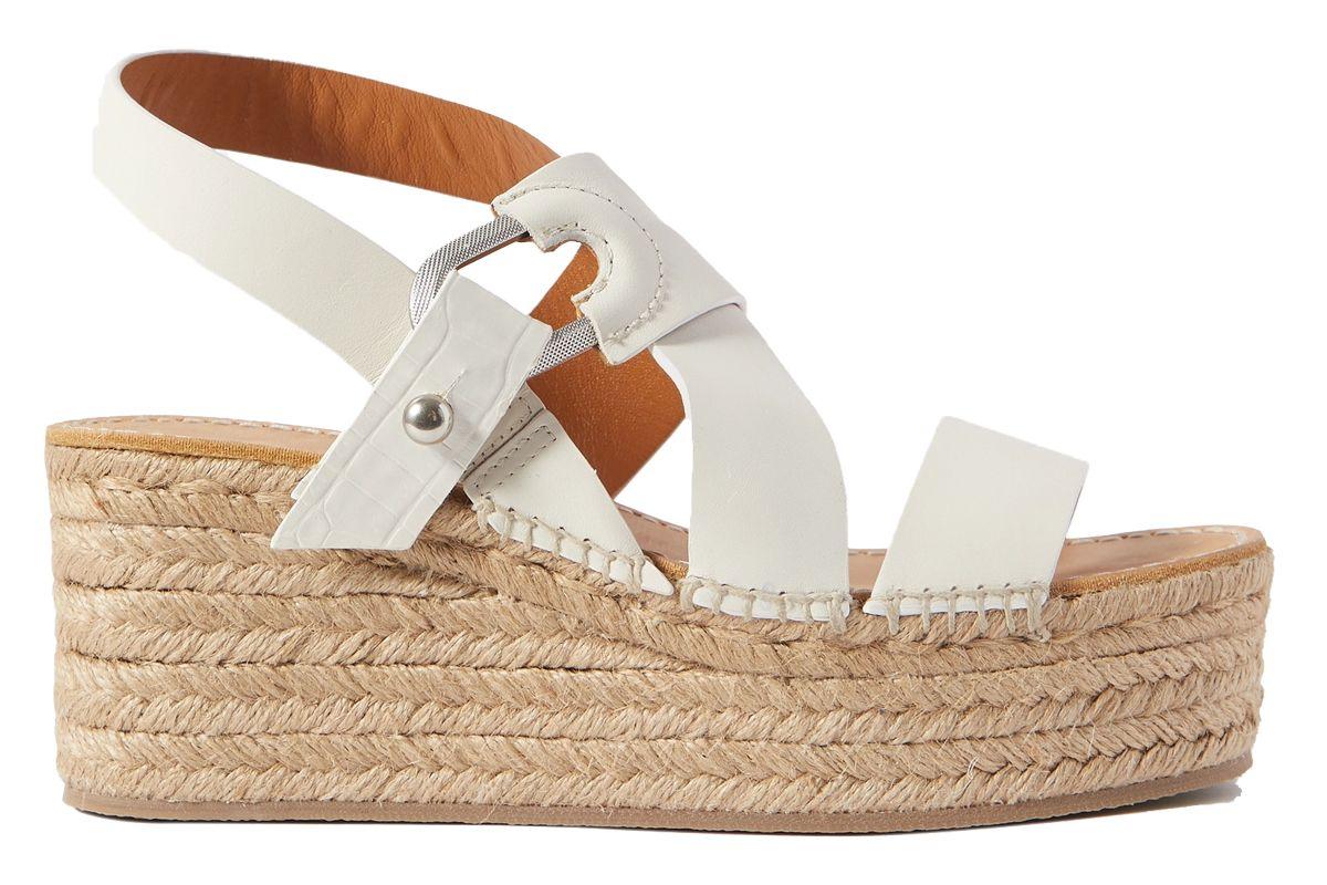 rag and bone august leather espadrille platform sandals