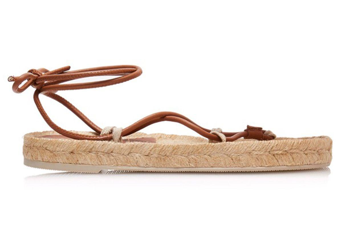 herau atada leather espadrille sandals