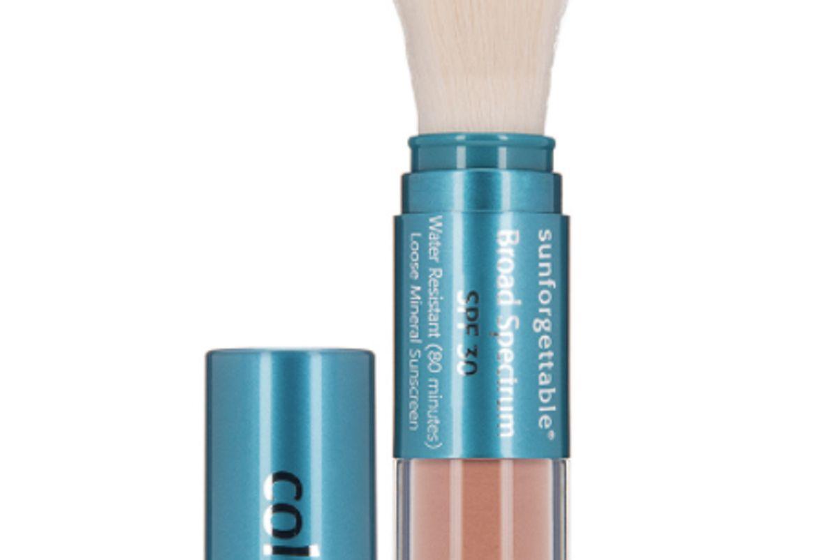 colorescience sunforgettable brush on sunscreen spf 30