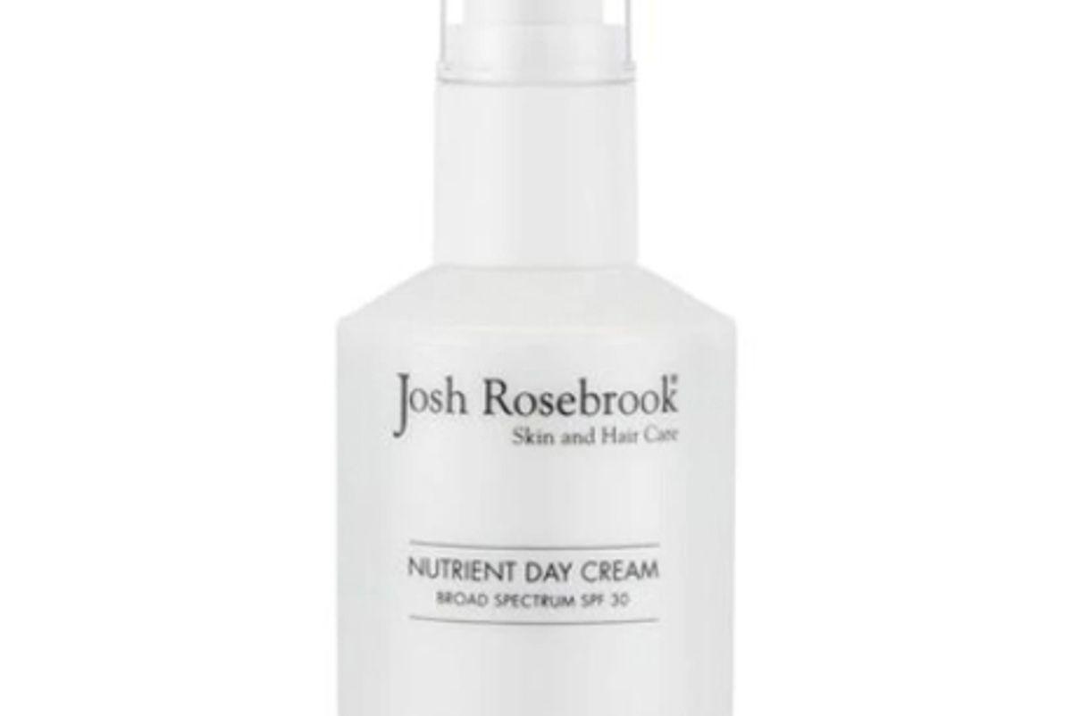 josh rosebrook nutrient day cream with spf 30