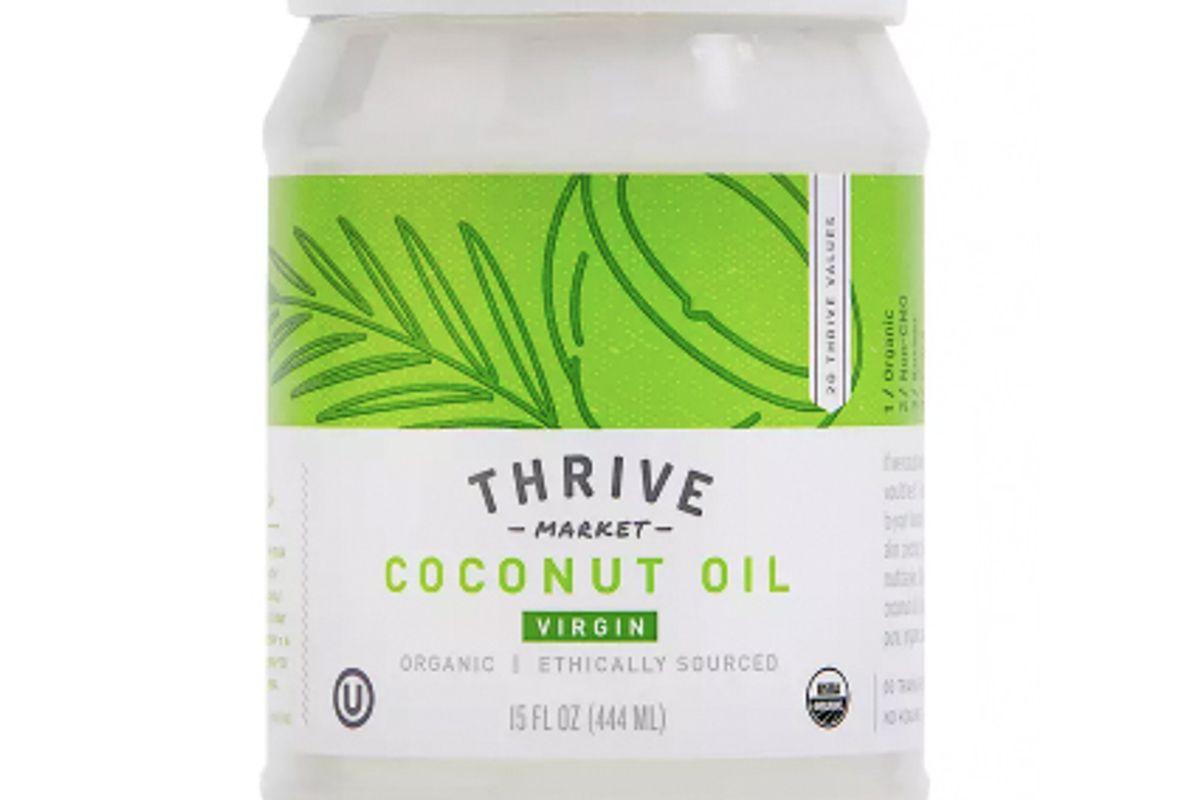 thrive market organic virgin coconut oil