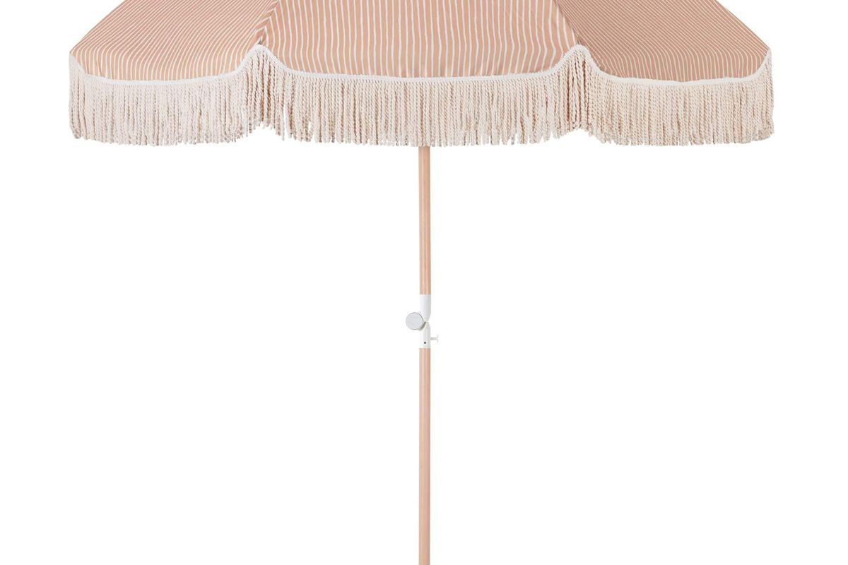 sunday supply co summer deck beach umbrella