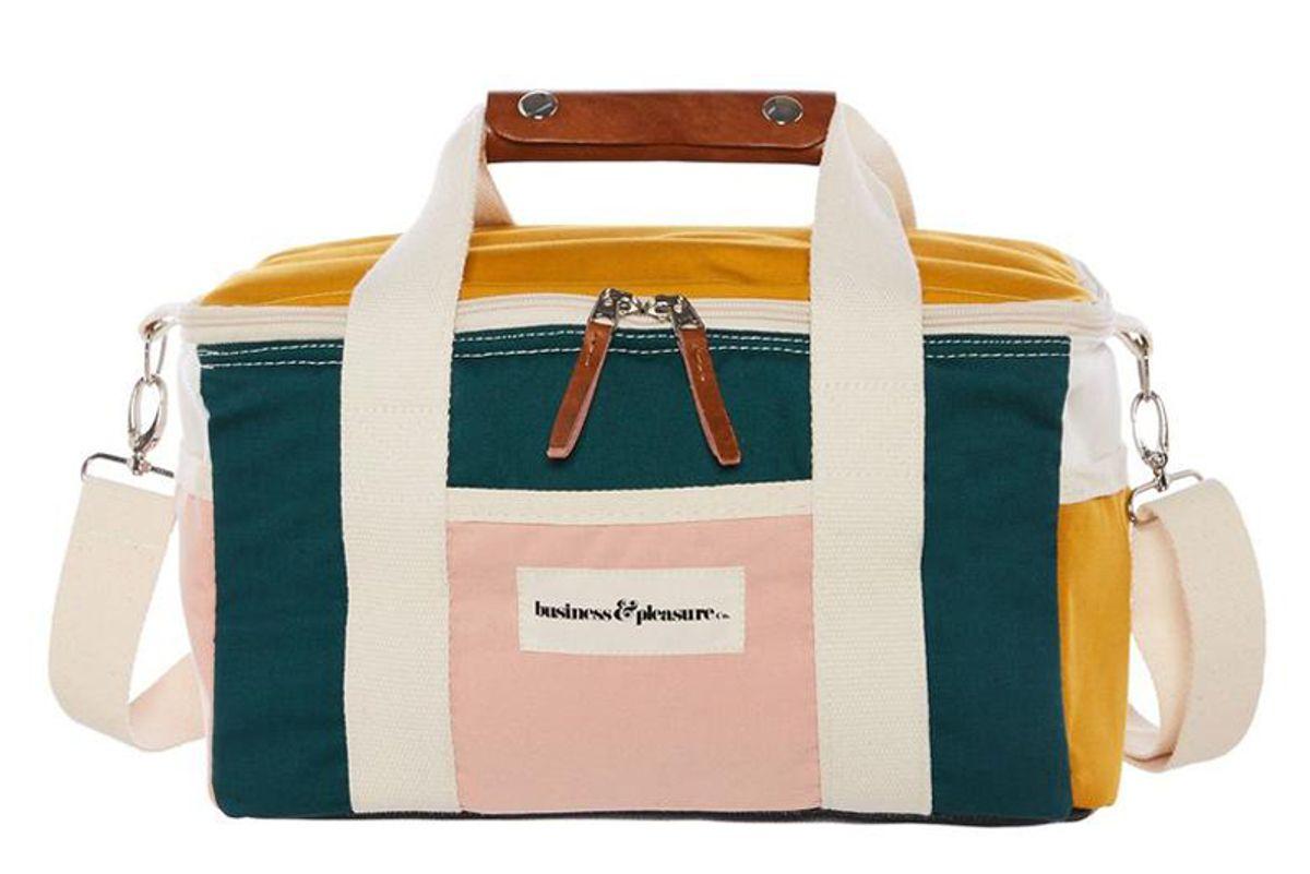 business and pleasure co premium cooler bag 70s panel cinque