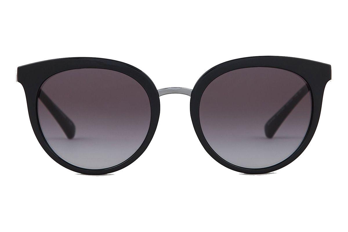 emporio armani women oversize cat eye sunglasses