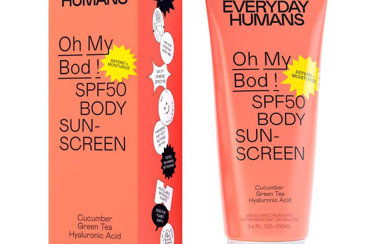 everyday humans oh my bod spf 50 body sunscreen