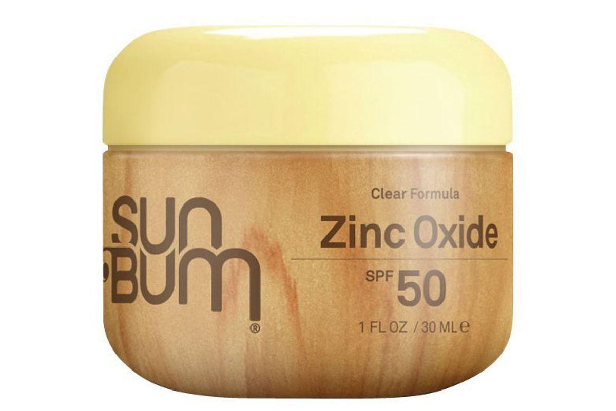 sun bum clear formula zinc oxide spf 50