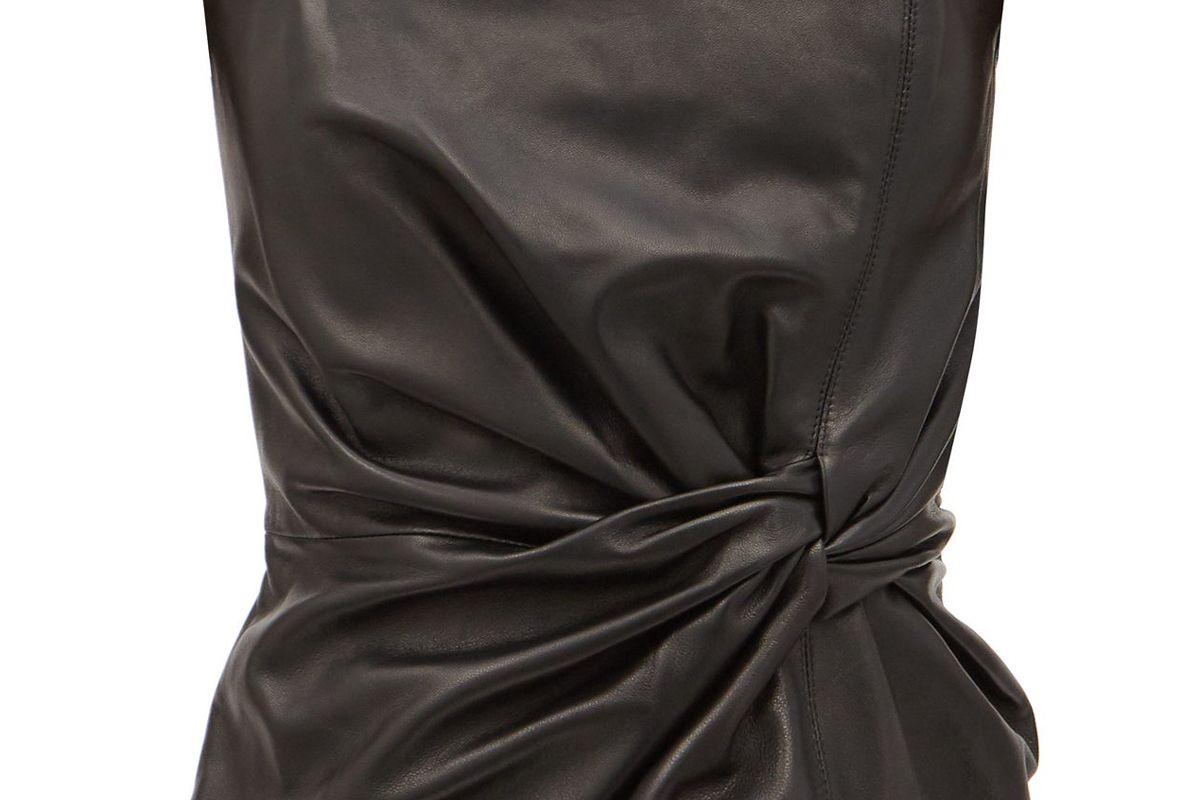 16arlington himawari strapless leather top