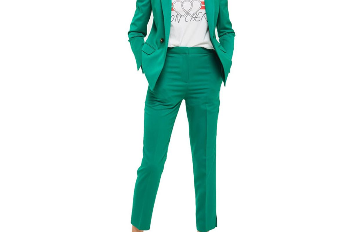 Double Breasted Suit Jacket and Trousers