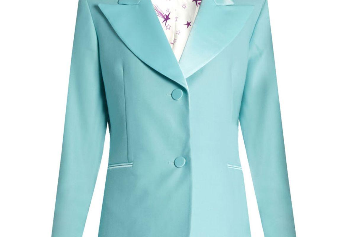 Bowie Single-Breasted Wool-Blend Jacket