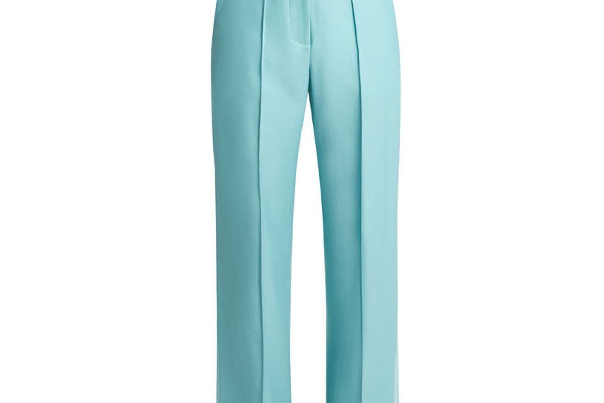 Starman High-Rise Wool-Blend Trousers
