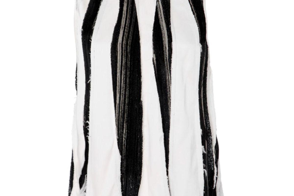 Slashed Velvet and Silk Cami