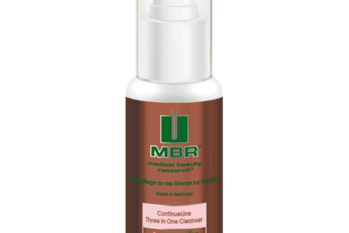 mbr continueline three in one cleanser