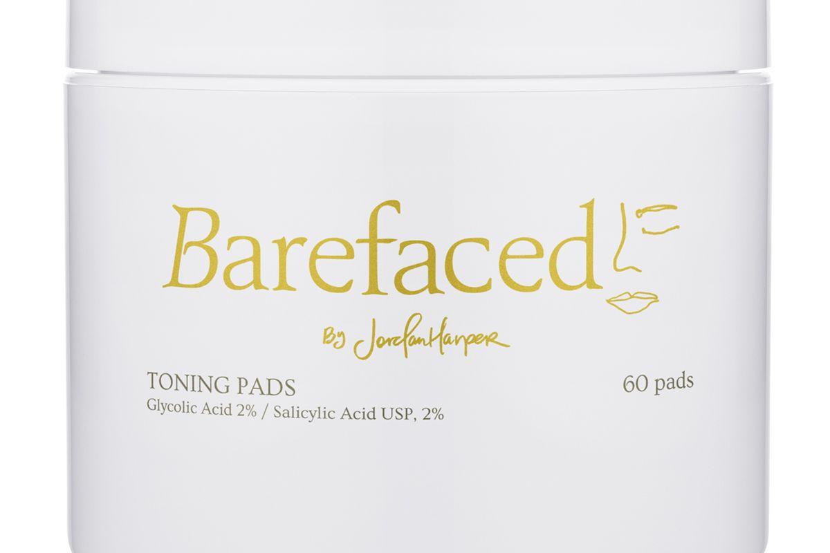 barefaced by jordan harper toning pads
