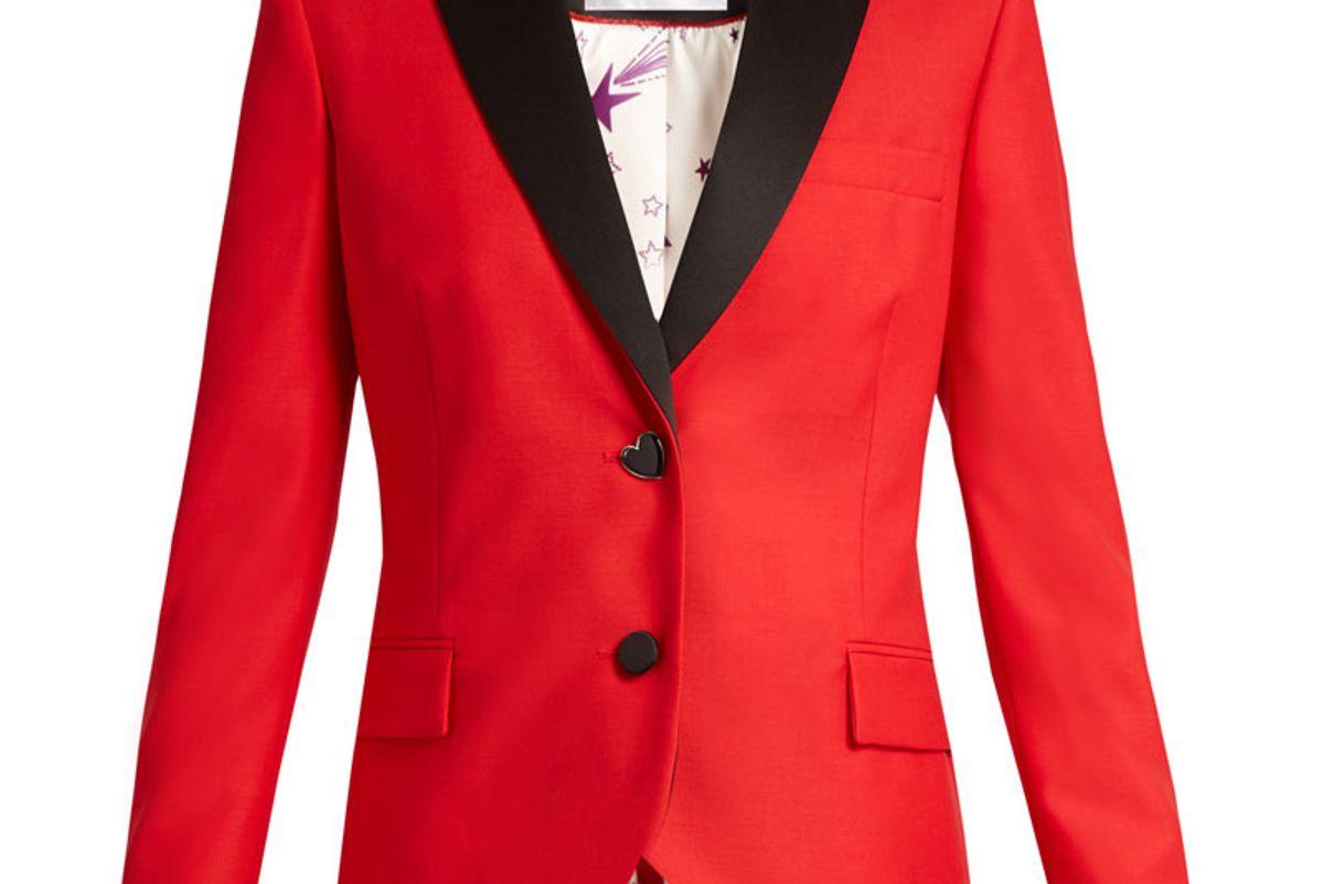 Mick Single-Breasted Wool-Blend Jacket