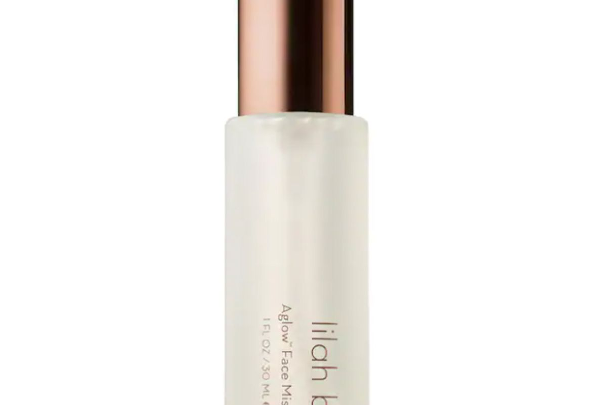 lilah b aglow hydrating and setting face mist
