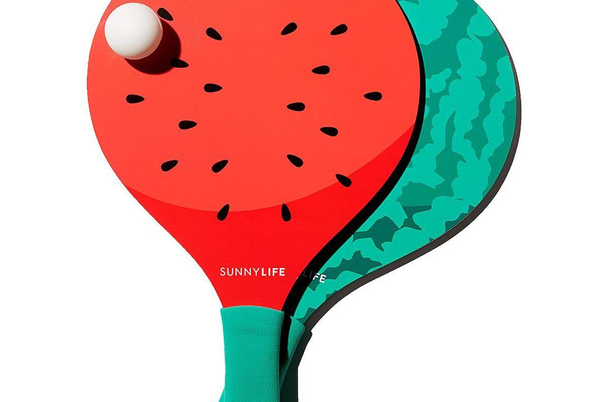 sunnylife beach bats watermelon
