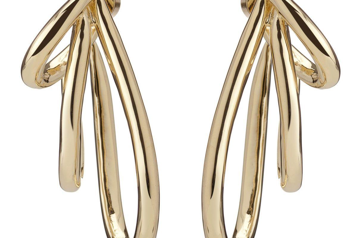 Multi Overlap Hoop Earrings