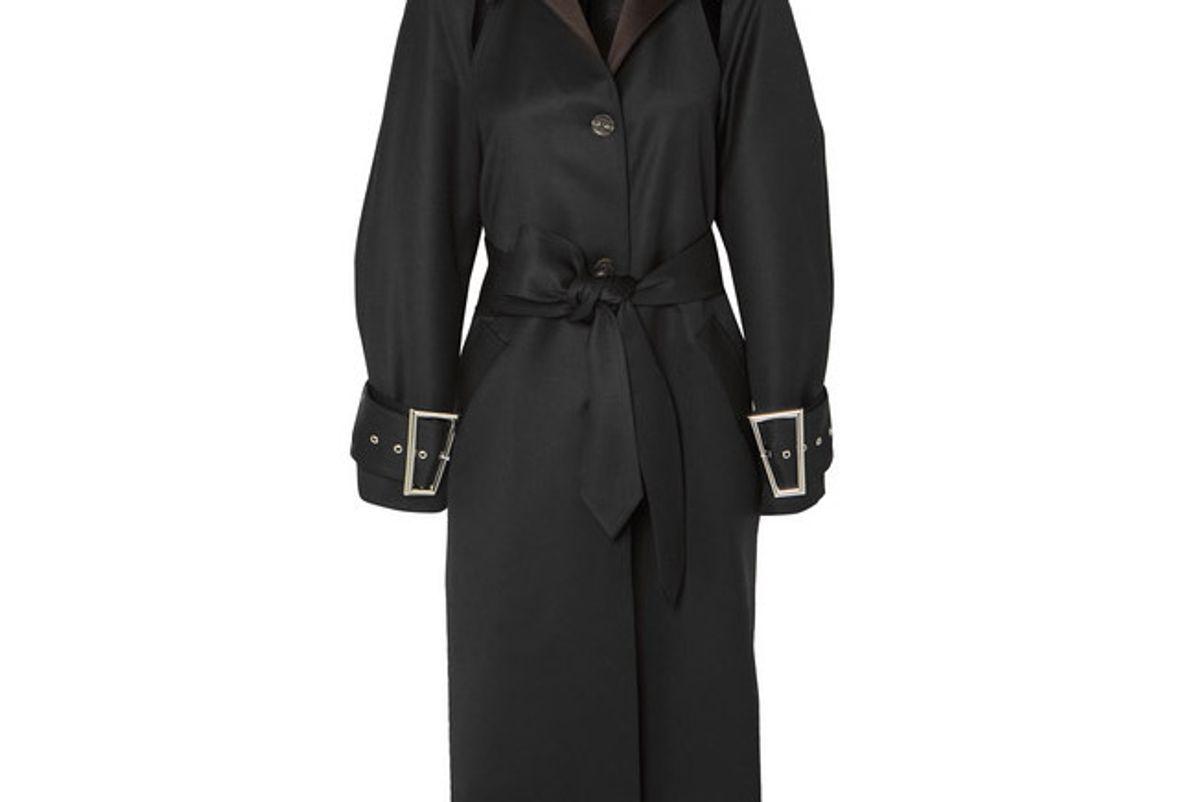 peter do convertible wool and silk blend coat