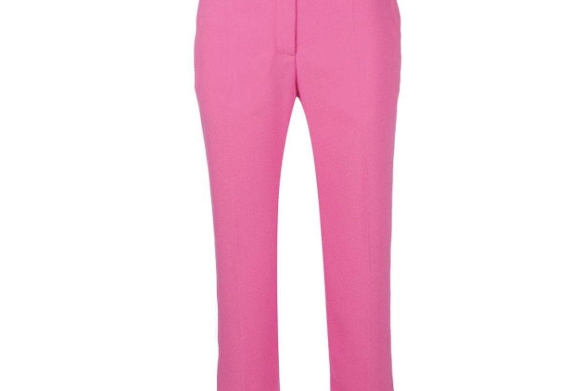 mulberry tailored cropped trousers