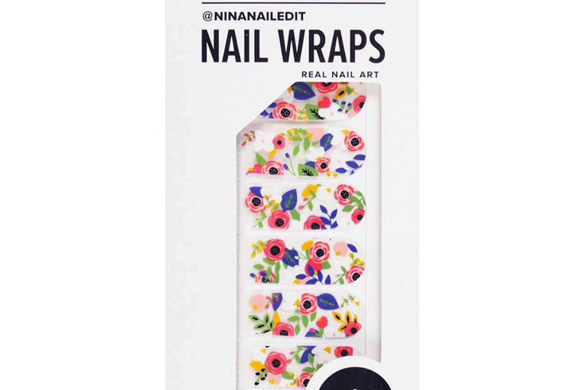 scratch florista nail wraps