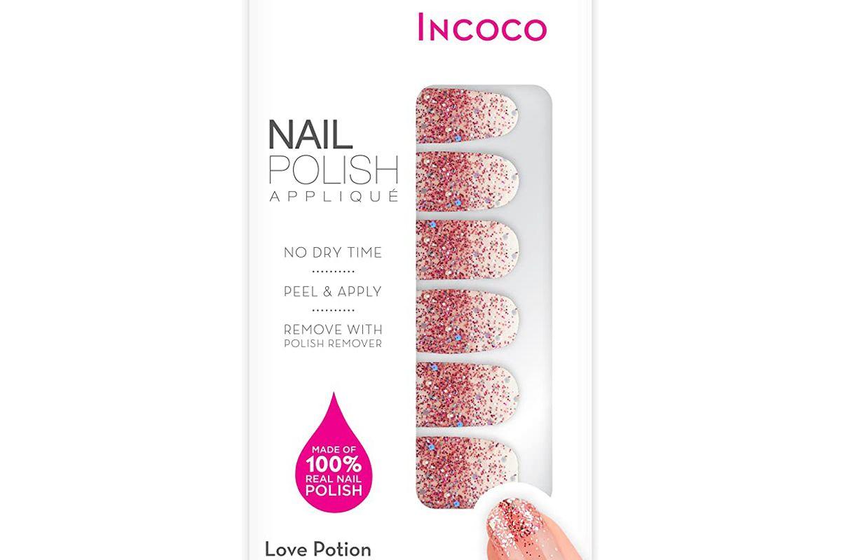 incoco nail polish applique nail art designs