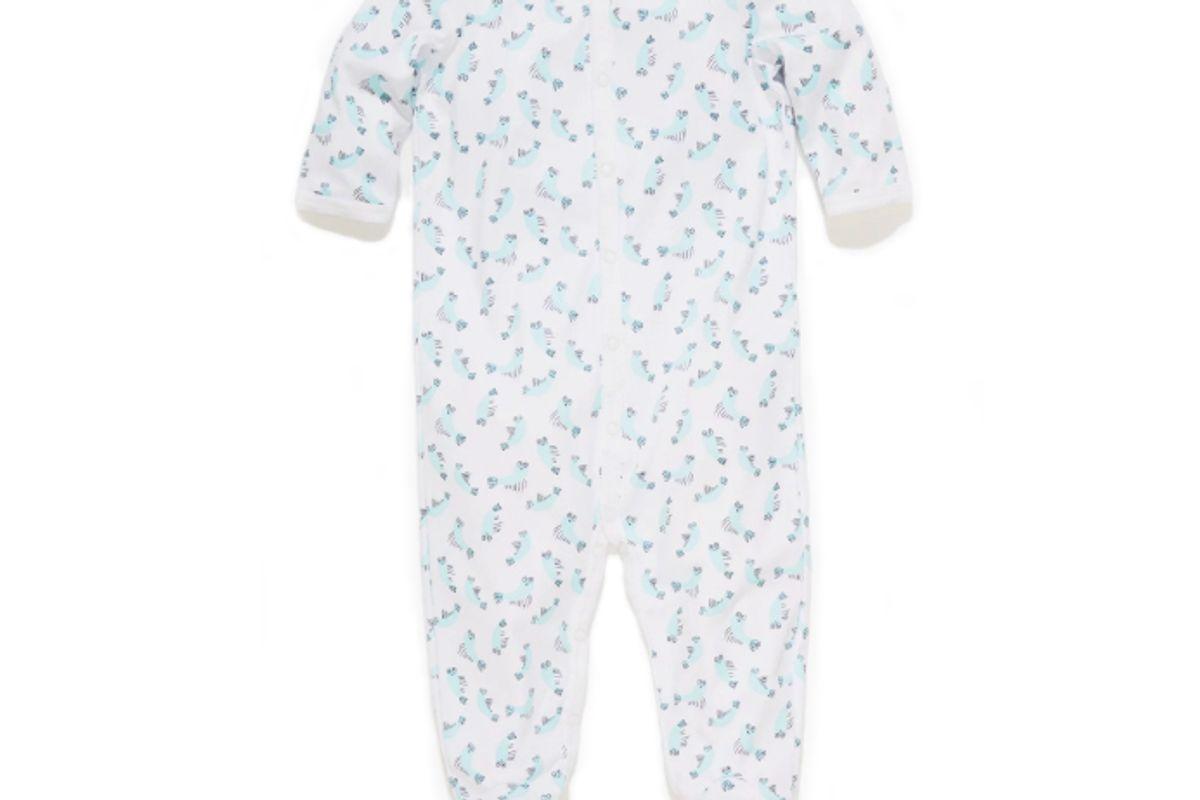 roller rabbit infant sono footie pajamas