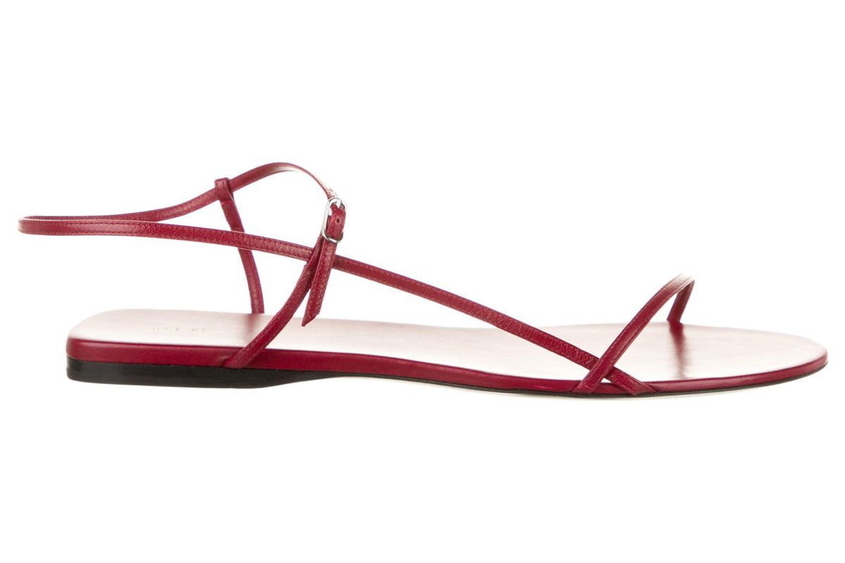 the row bare leather sandals w tags