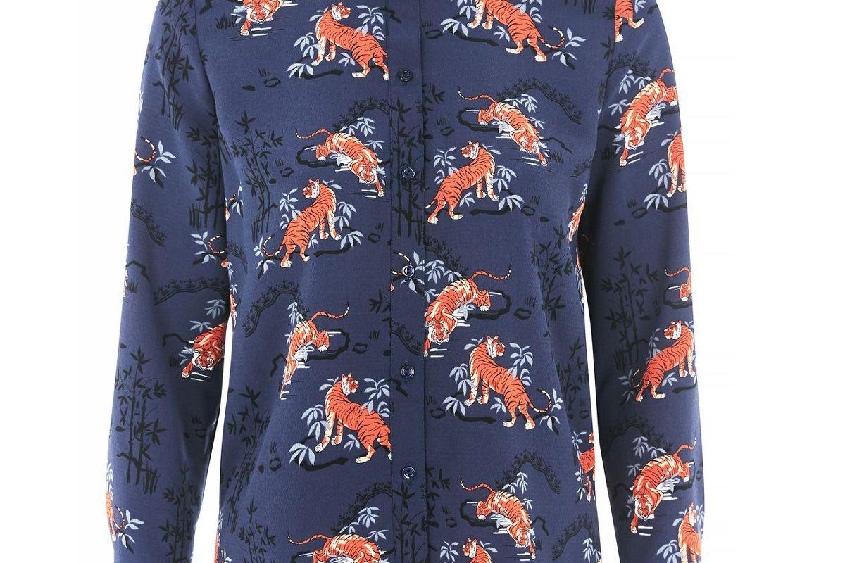 Tall Tiger Print Shirt