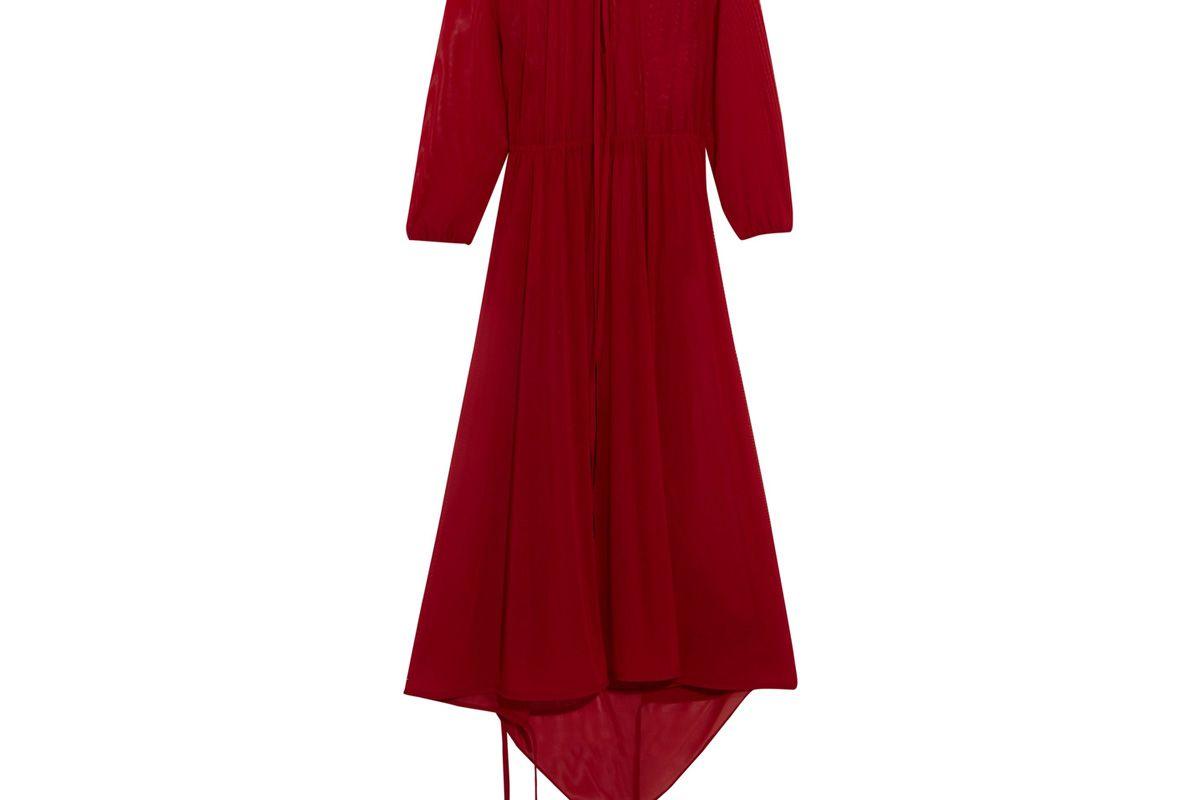 Stretch-Jersey Midi Dress