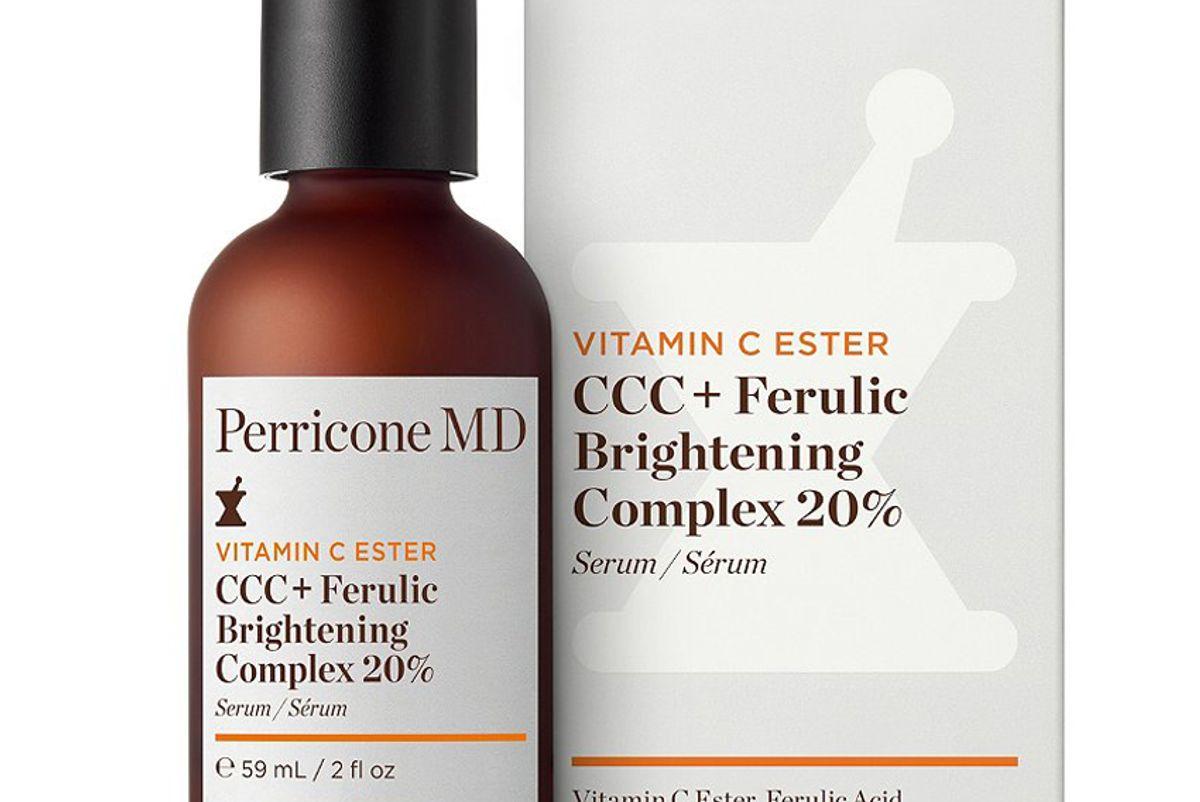 perricone md vce ccc plus ferulic brightening complex 20 percent