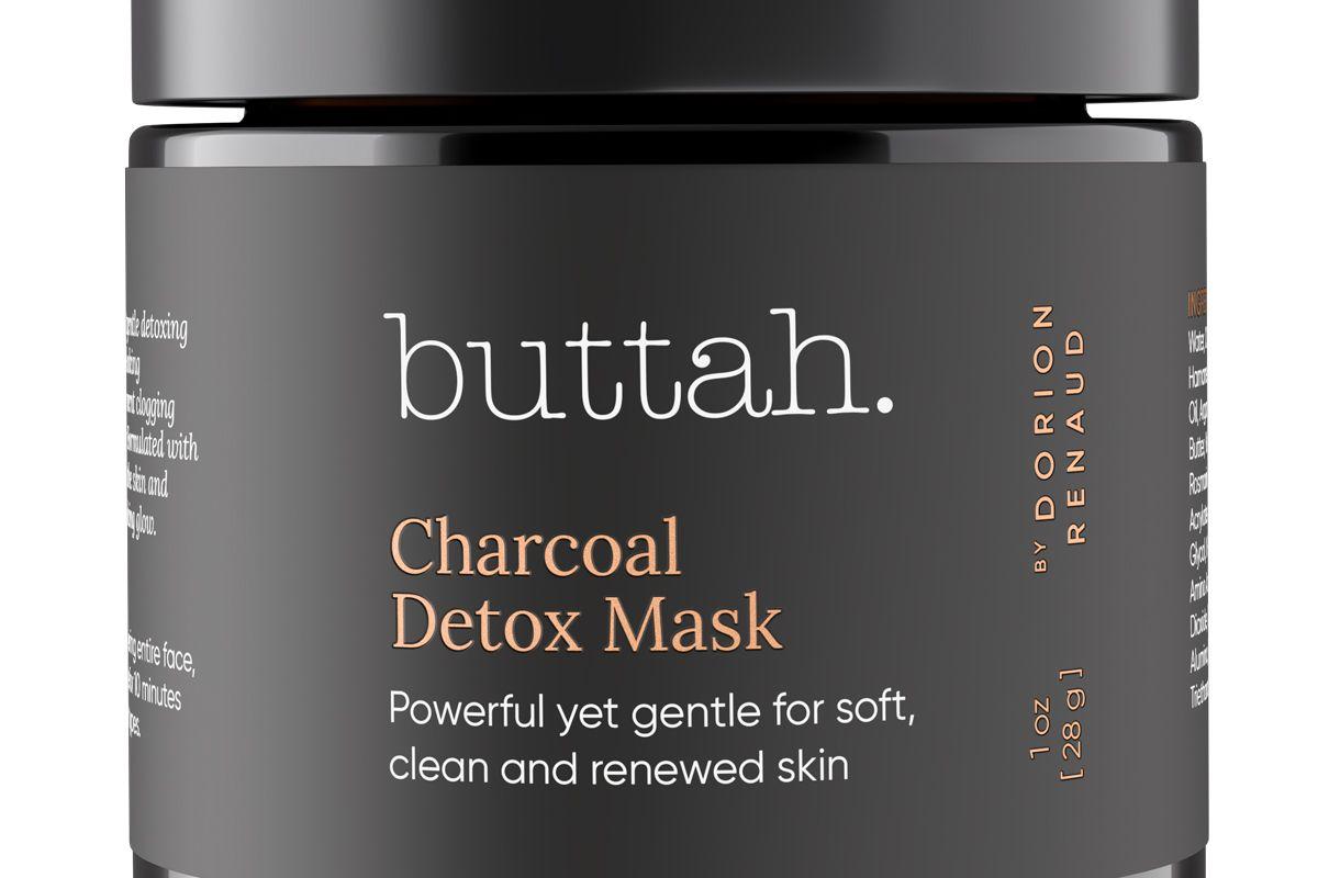 buttah charcoal detox mask
