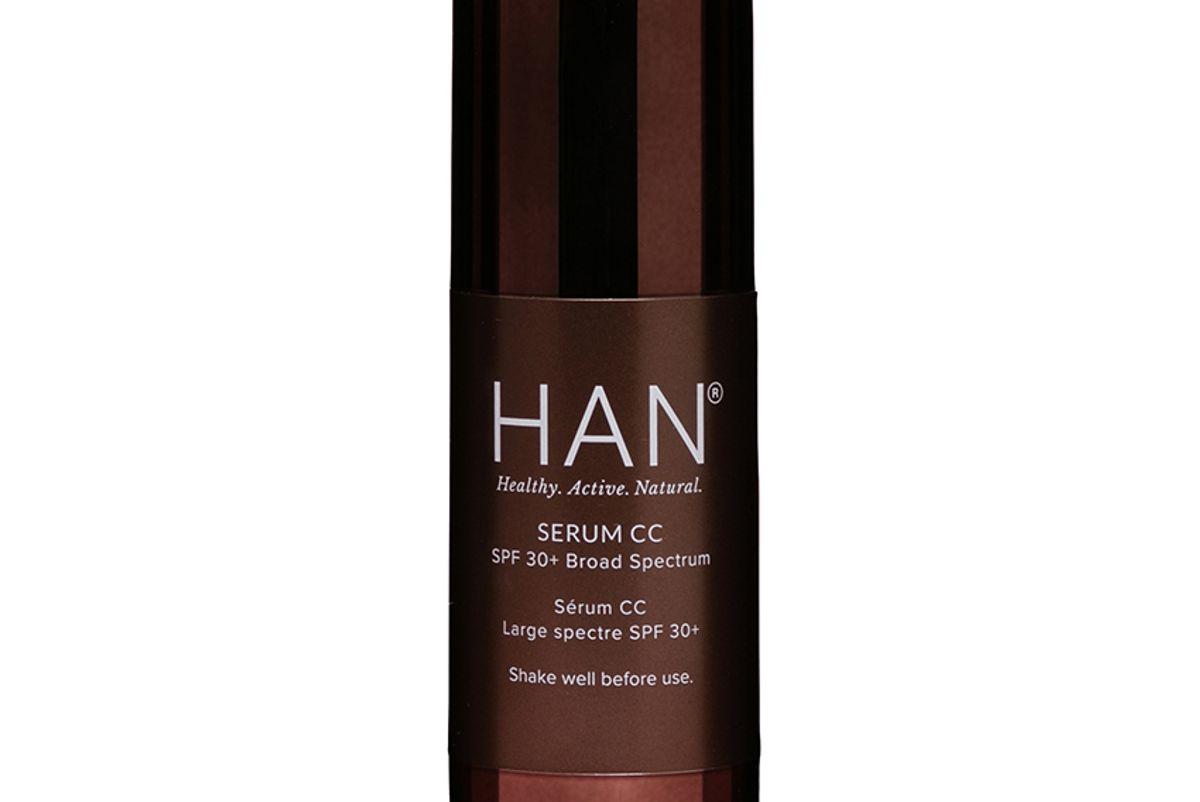 han skincare cosmetics serum cc with spf 30