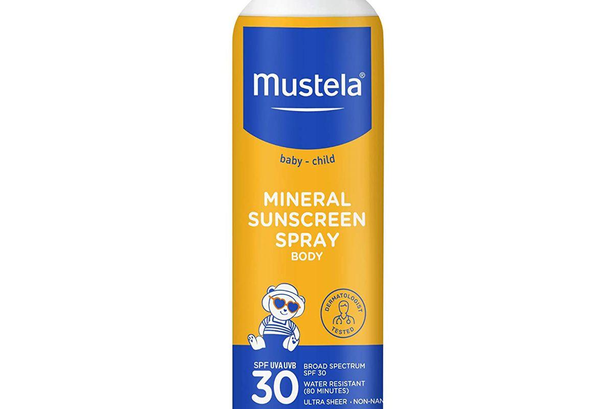 mustela spf 30 mineral sunscreen spray