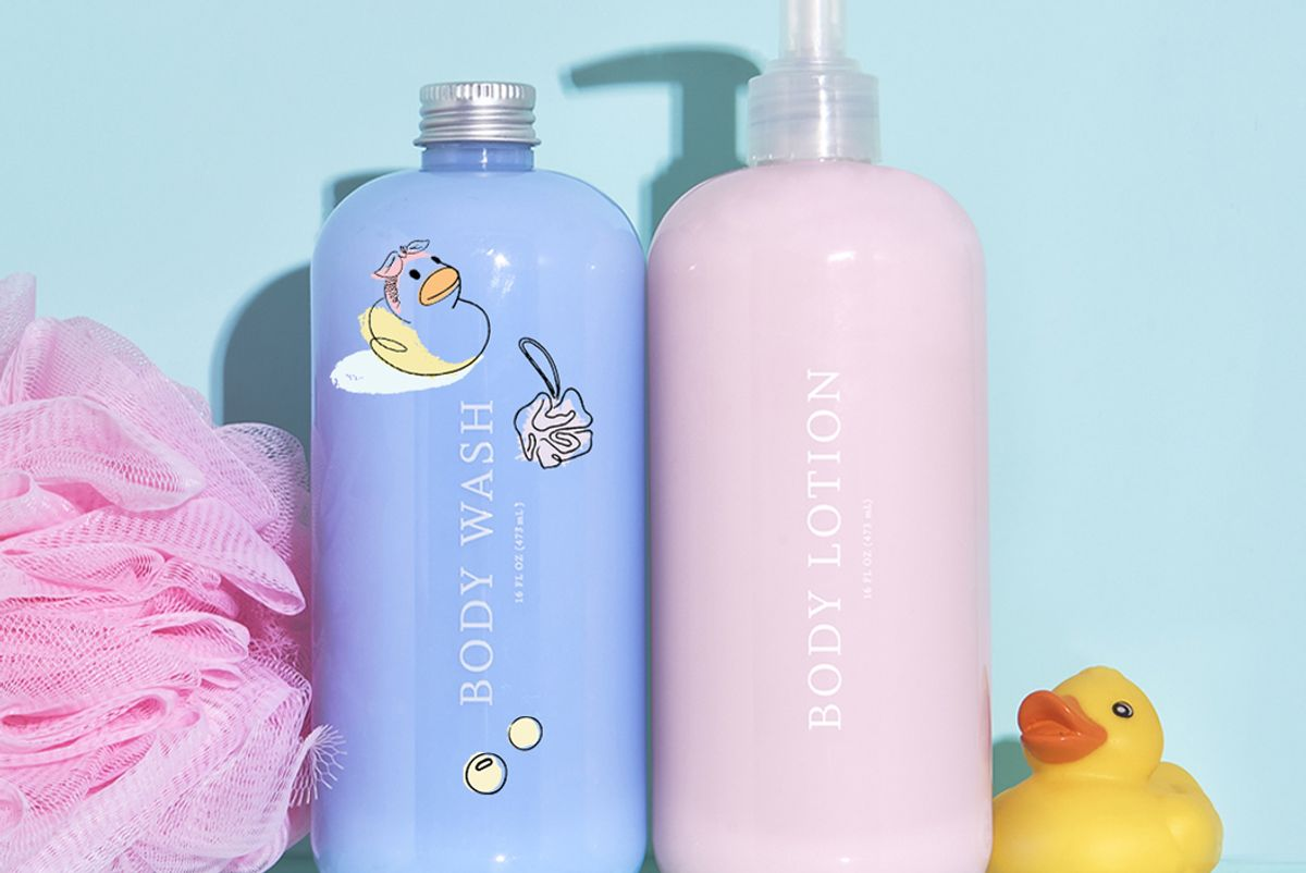 function of beauty custom body wash and lotion