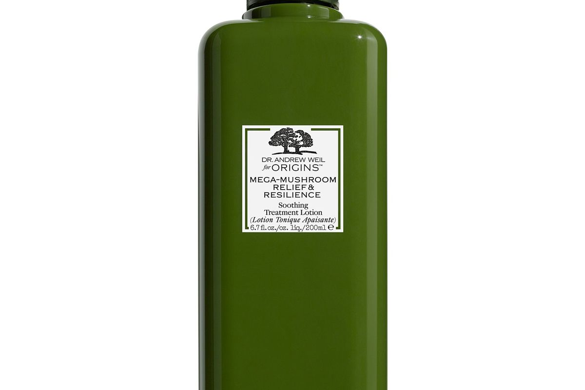 origins dr andrew weil for origins mega mushroom relief and resilience soothing treatment lotion