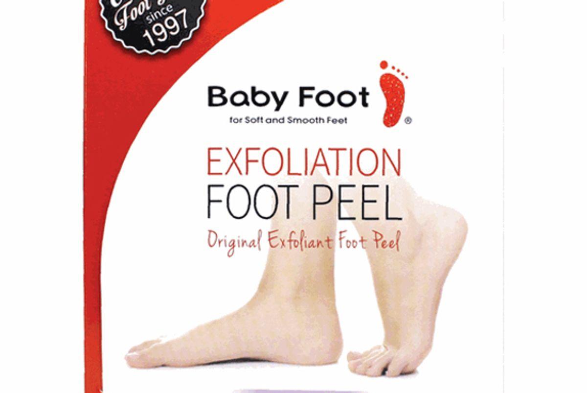 baby foot original exfoliating foot peel