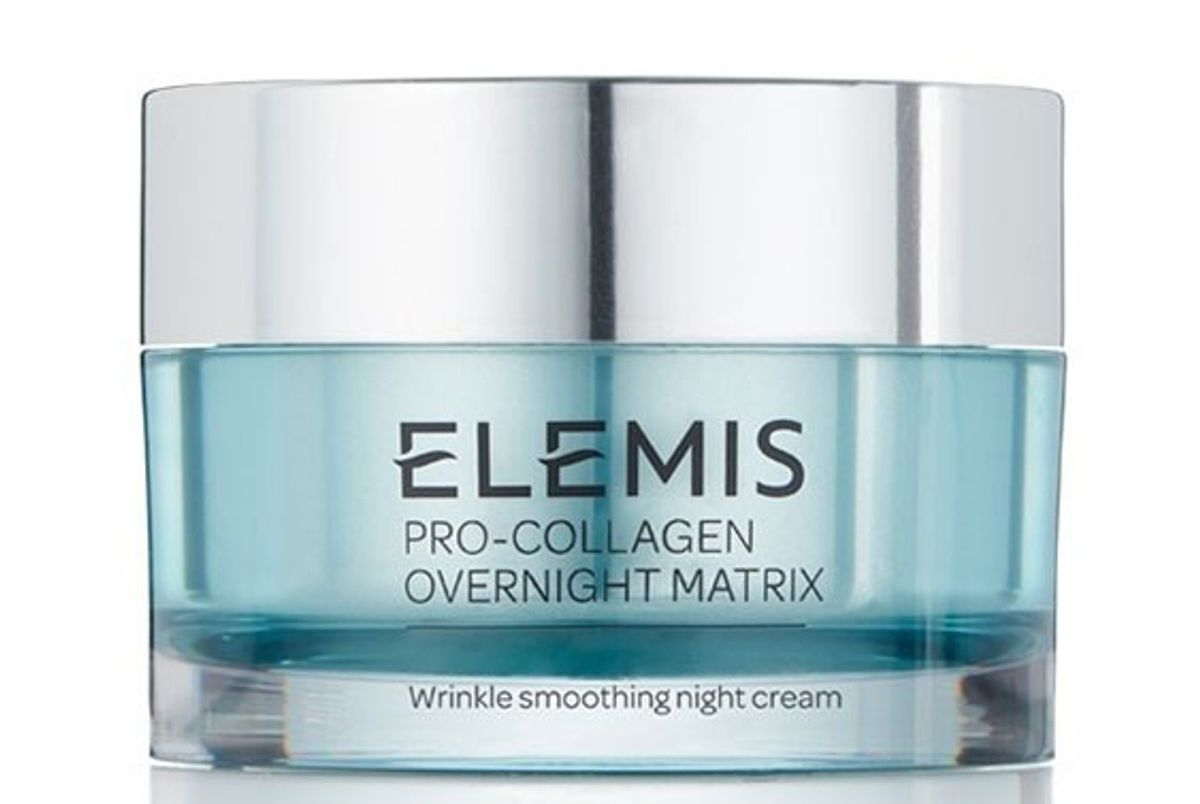 elemis pro collagen overnight matrix wrinkle smoothing night cream