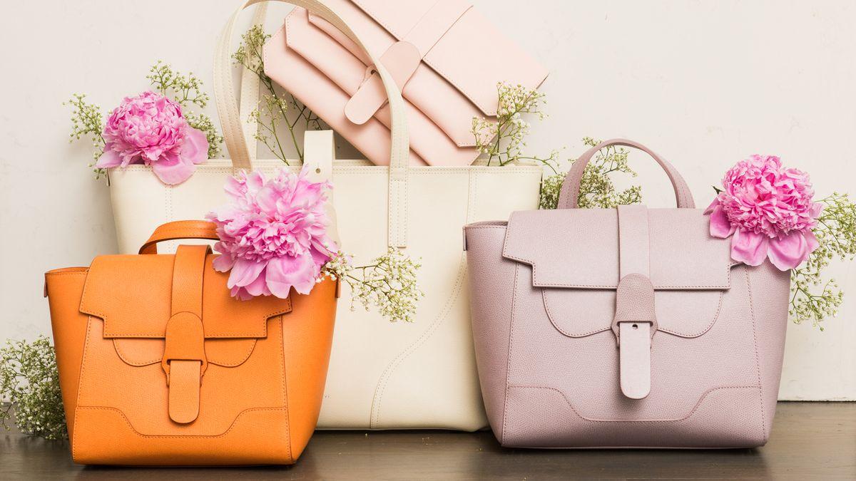 how editors style senreve handbags