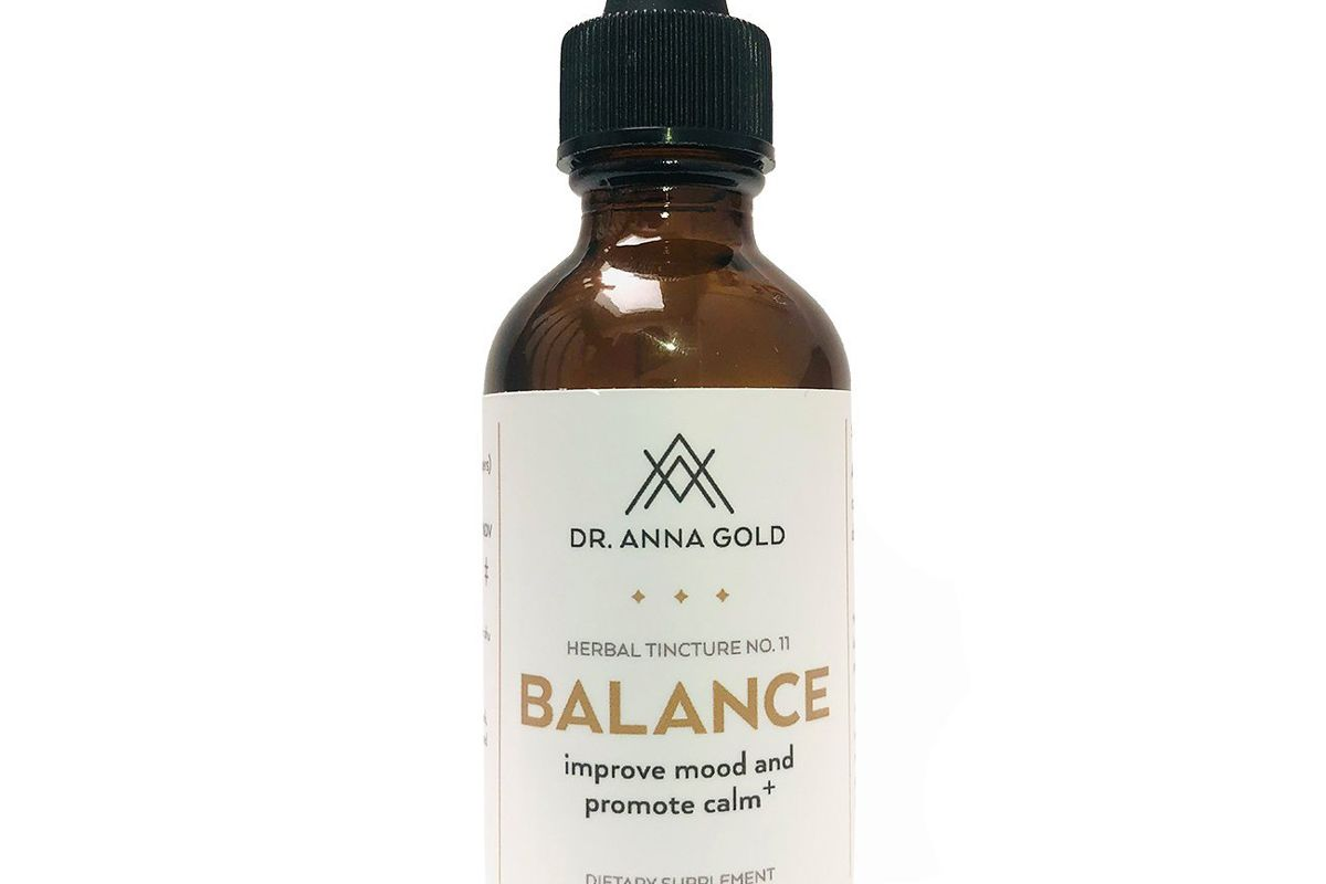 dr anna gold balance herbal tincture 11 improve mood and promote calm